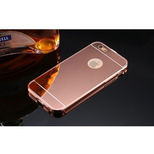 Mirror Bumper Metal Case Różówy | Etui dla Apple iPhone 5 / 5S / 5SE - Różowy