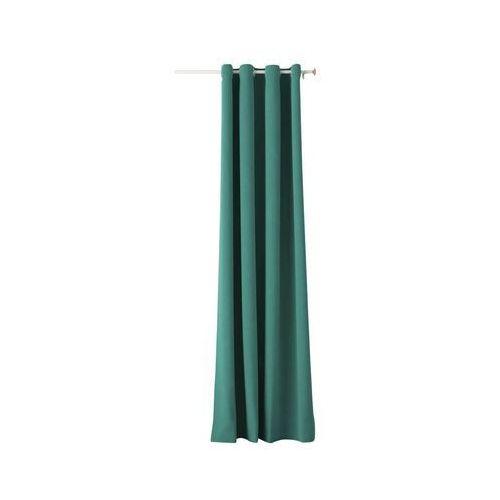 Action Zasłona aura zielona 140 x 250 cm na przelotkach