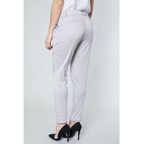 Click fashion Spodnie damskie model dora 10517 grey
