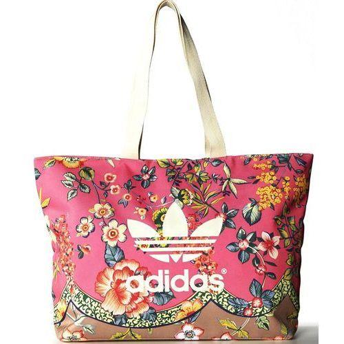 Adidas piękna torba worek plaża basem duża torebka
