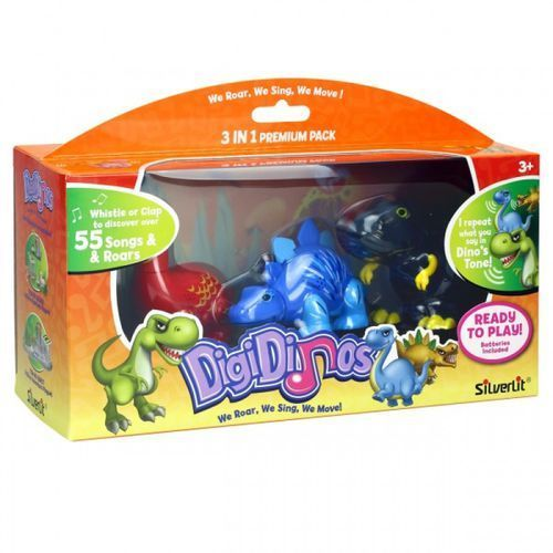 DigiDinos 3 w 1 Apollo, Simon, Terry - Dumel (4891813883845)