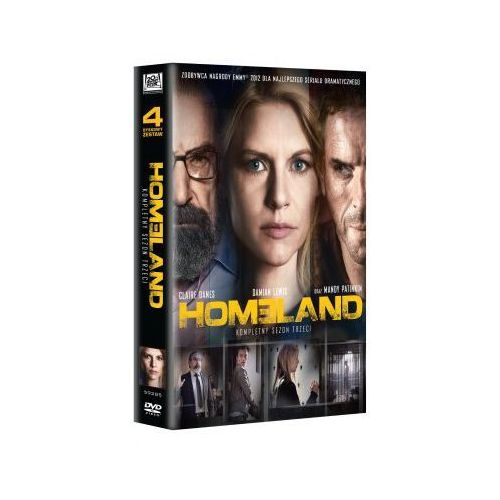 Homeland, sezon 3 (DVD) - Mark Shea