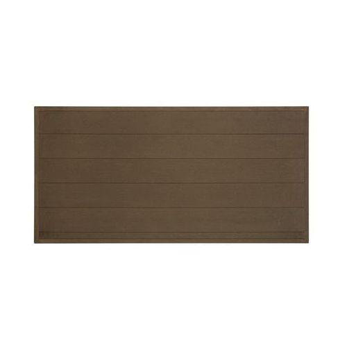 Płot kompozytowy 173x86.5 cm brązowy WPC WINFLOOR (5908443048342)