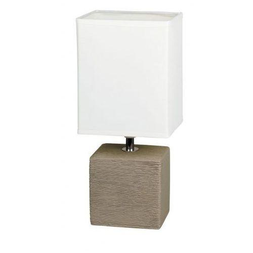 Lampka stołowa lampa orlando 1x40w e14 kakaowa 4930 marki Rabalux