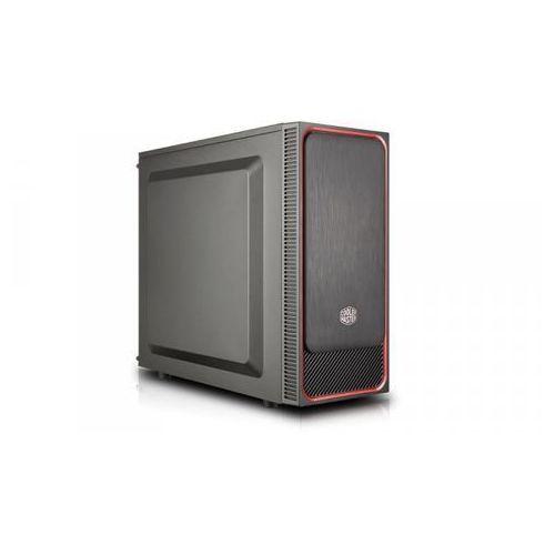 Cooler master masterbox e500l czarno-czerwona mcb-e500l-kn5n-s01