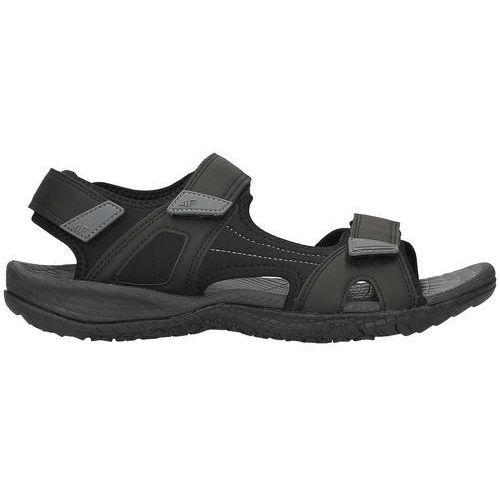 Męskie sandały h4l18 sam001 czarny 40, 4f
