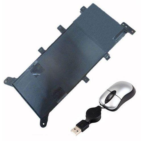 amsahr asusc21 N1347 – 05 do bateria dla Asus c21 N1347, X555, X555LD, X555LN X555LA – zawierają Mini myszka optyczna Czarny (0845925013120)