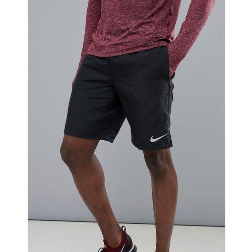 dry challenger 9 inch shorts in black 908800-010 - black, Nike running