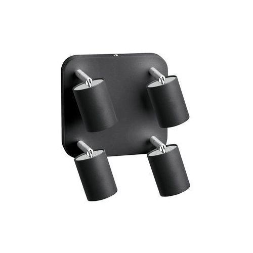 Plafon eye spot 6137 graphite lampa oprawa ruchoma sufitowa 4x35w gu10 grafitowy marki Nowodvorski