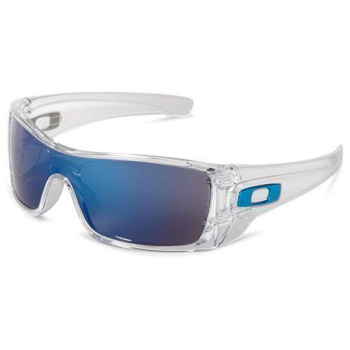 Oakley mężczyzn batwolf Wrap okulary przeciwsłoneczne, przezroczysty, jeden rozmiar (0700285444055)