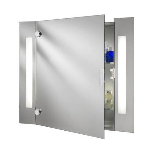 Nowoczesna szafka lustrzana silva z oświetleniem marki Searchlight