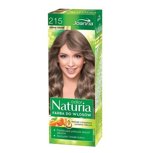 Joanna Naturia Color Farba do włosów nr 215-zimny blond 150g, 525215