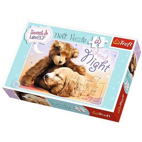 Trefl Sweet&Lovely. Słodkich snów - puzzle (60 elementów) - Trefl, 5900511172706_756288_001