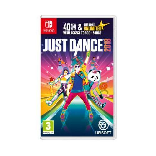 Gra nintendo switch just dance 2018 marki Ubisoft