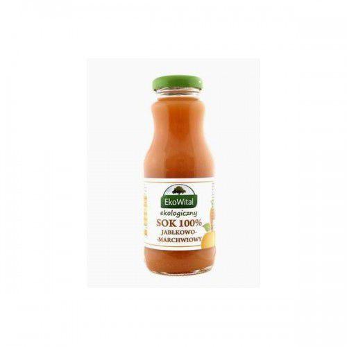 Sok jabłkowo-marchwiowy tłoczony 100 % BIO 250 ml Bez Cukru, 150