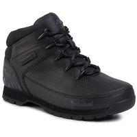 Trapery TIMBERLAND - Euro Sprint Mid Hiker TB0A21BA015 Black Tectuff