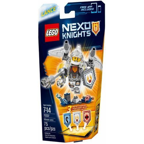 LEGO NEXO KNIGHTS, Lance, 70337 rabat 10%