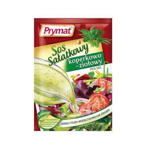 9g sos sałatkowy koperkowo-ziołowy polski marki Prymat