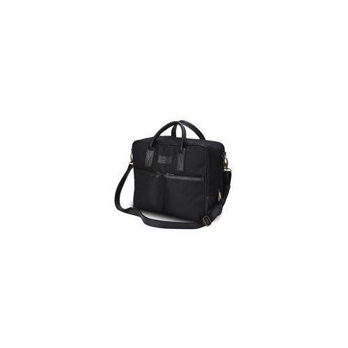 Solier Męska torba na laptopa  s23 czarna