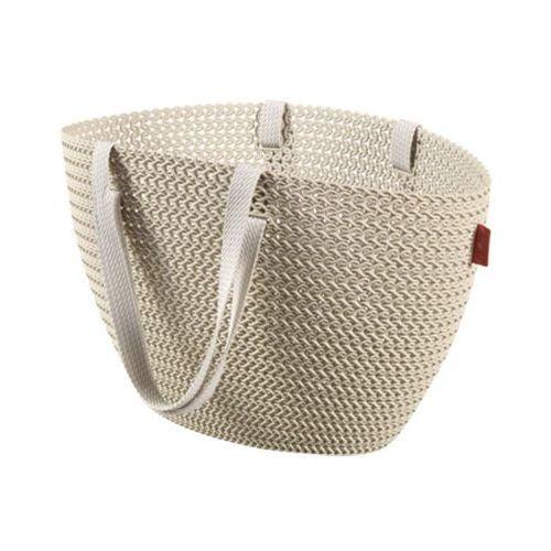 Koszyk na zakupy Emily Knit (kremowy) Curver, 230281