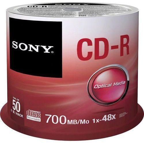 Sony Płyta  cd-r 50cdq80sp 700mb cake 50 szt x 48