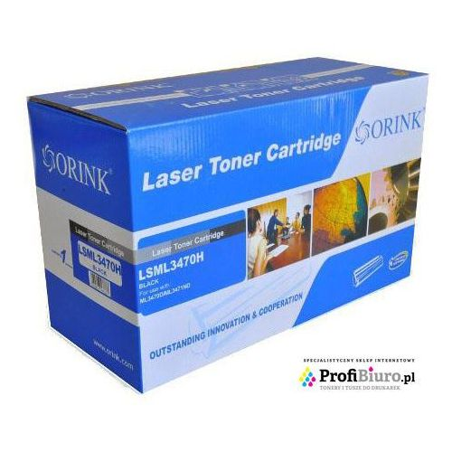Orink Toner lsml3470h-or black do drukarek samsung (zamiennik samsung ml-d3470b) [10k]