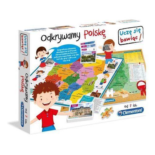 Gra CLEMENTONI Odkrywamy Polskę + Zagwarantuj sobie dostawę przed Świętami! z kategorii Gry dla dzieci