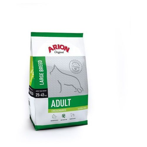 Arion Original Adult Large Chicken & Rice 12kg (5414970055406)