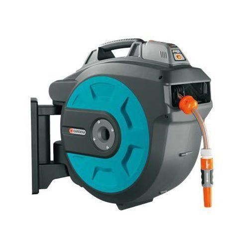 bęben naścienny comfort 35 roll-up automatic li-ion (8025-20) marki Gardena