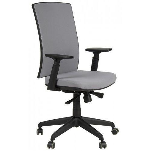 Krzesło biurowe obrotowe KB-8922B/SZARY, fotel biurowy, KB-8922B/SZARY