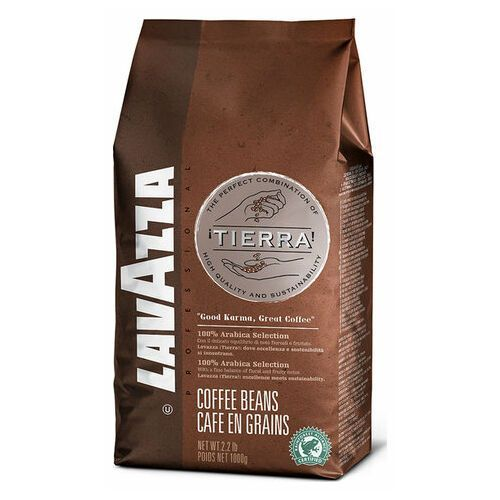 Kawa ziarnista Lavazza Tierra 1kg