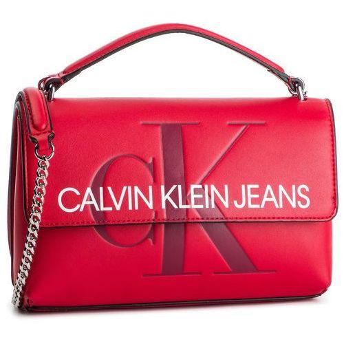 Torebka - sculpted monogram ew flap k60k60605523 649 marki Calvin klein jeans