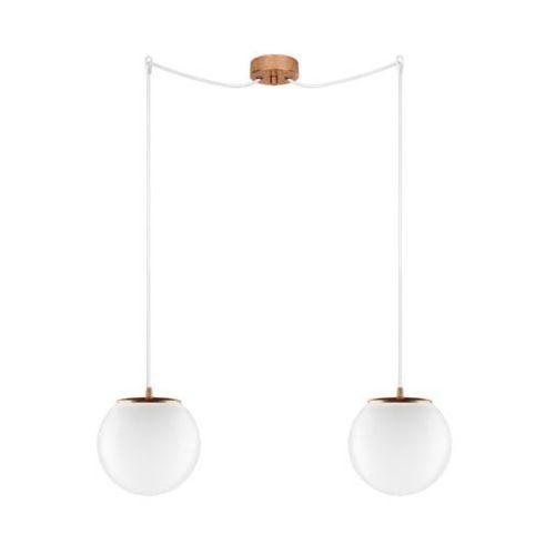 Sotto luce Lampa wisząca tsuki elementary s2/s/opal szklana oprawa klasyczna minimalistyczny zwis kule białe (1000000210934)