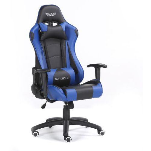 Nordhold Fotel gamingowy - ymir - niebieski (5907176696790)