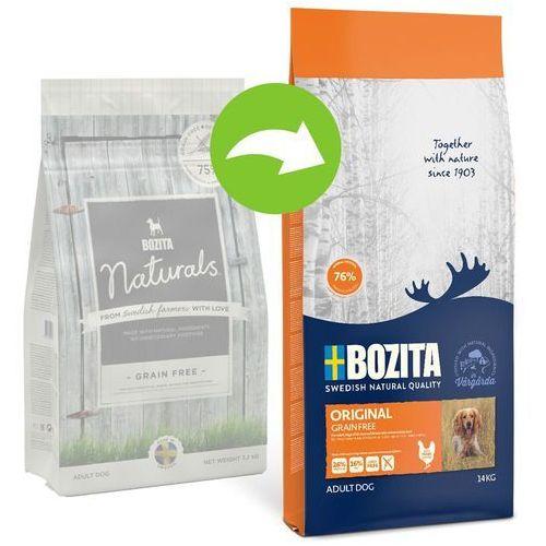 Bozita original grain free - bezzbożowa karma z kurczakiem dla psów dorosłych wszystkich ras 14kg