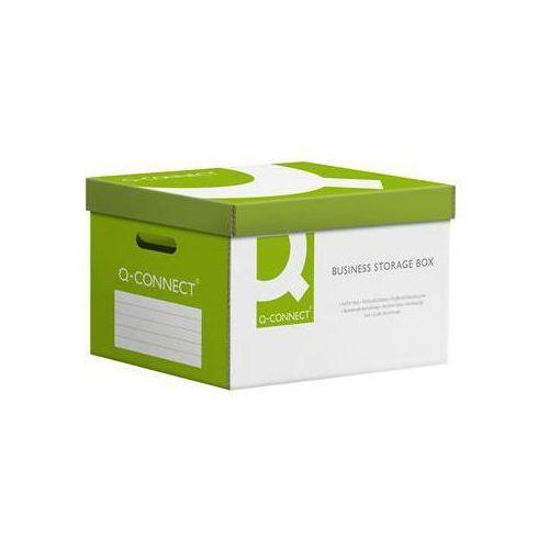 Q-connect Pudło archiwizacyjne wzmocnione  power, karton, zbiorcze, zielone (5705831158511)