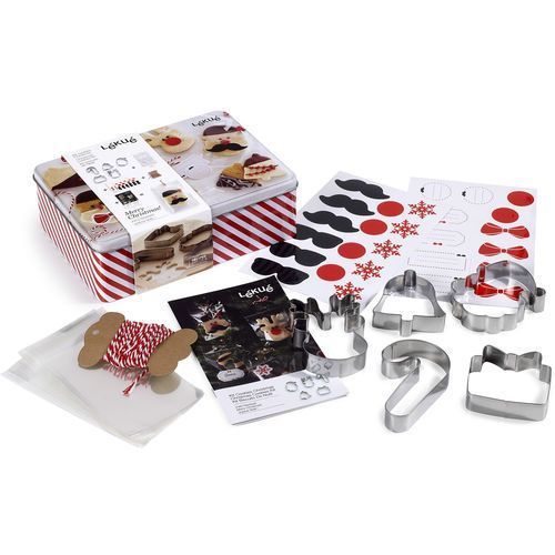 Zestaw do wypieku świątecznych ciasteczek Christmas Lekue (3000095SURM017)