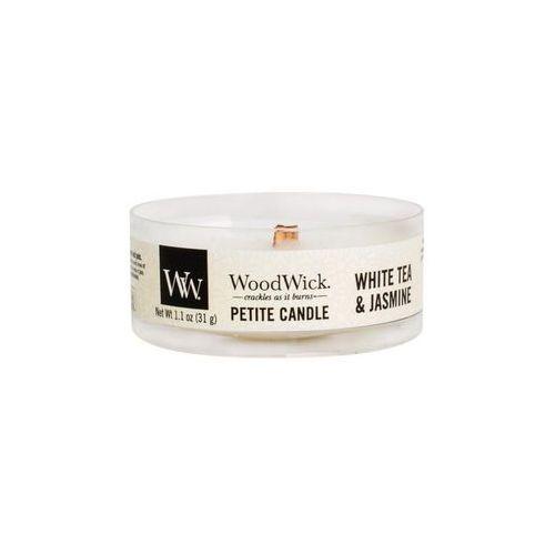 WoodWick - Świeca Petite White Tea & Jasmine 15h
