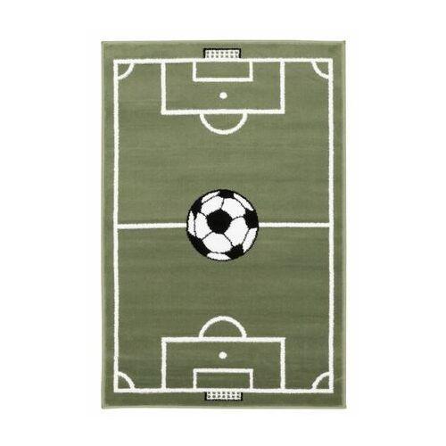 Dywan dziecięcy boisko jasnozielony 80 x 120 cm marki Agnella