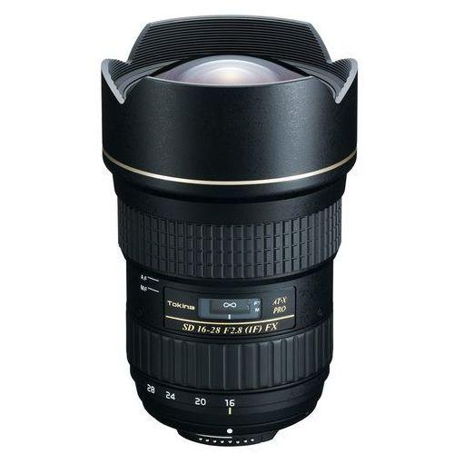 TOKINA 16-28 mm 2.8 PRO FX obiektyw mocowanie Canon