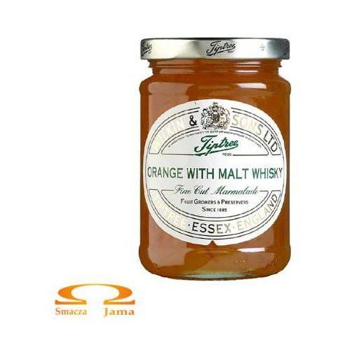 Konfitura pomarańczowa z whisky słodową 340g marki Wilkin & sons