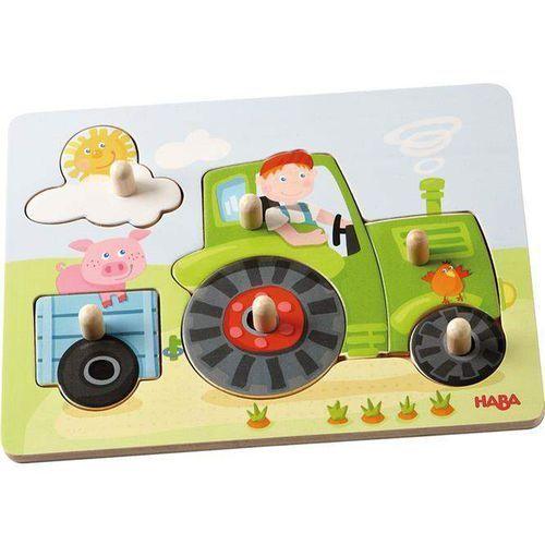 Puzzle nakładane - Traktor, HB302535 (6983505)
