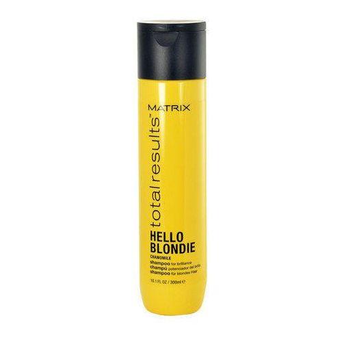 Matrix Total Results Hello Blondie Chamomile Shampoo 300ml W Szampon do włosów blond
