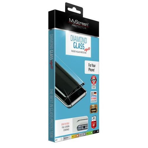 Myscreen Szkło hartowane diamond edge 3d glass iphone 7 plus / 8 plus białe (5901924943839)