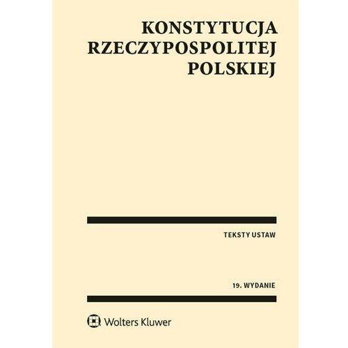 Konstytucja Rzeczypospolitej Polskiej (9788381241274)