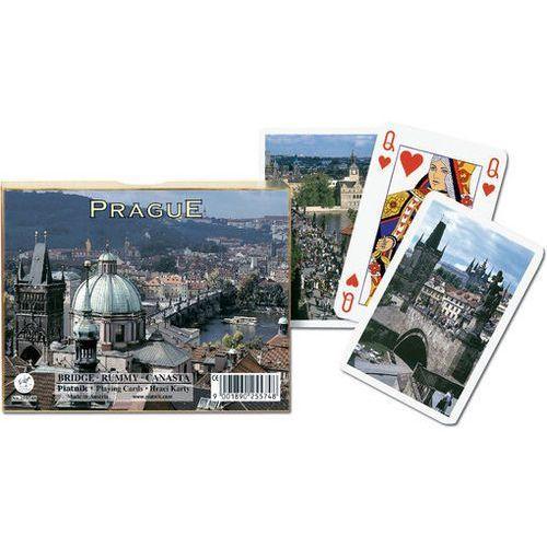 Karty do gry Piatnik 2 talie Praga Stare miasto