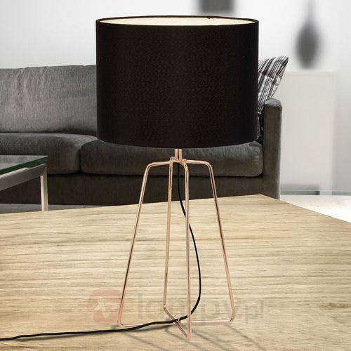 Brilliant felicy lampa stołowa miedź, 1-punktowy - nowoczesny - obszar wewnętrzny - felicy - czas dostawy: od 4-8 dni roboczych