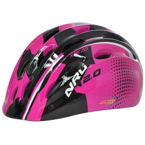 Kask rowerowy axer sport krezo pink (rozmiar s) marki Axer bike