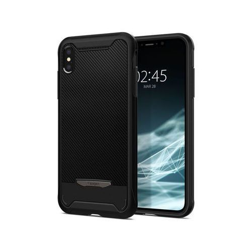 Etui Spigen Hybrid NX Apple iPhone Xs Max Black, kolor czarny