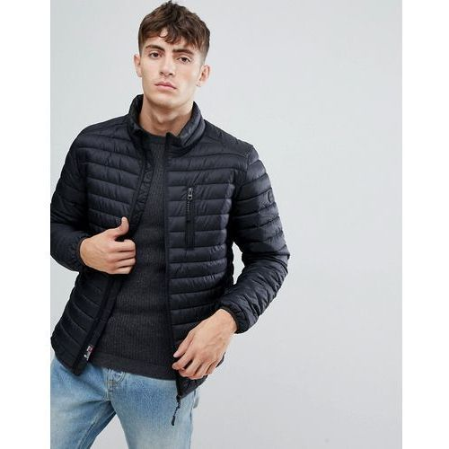 ultra light thinsulate puffer jacket in black - black marki Esprit